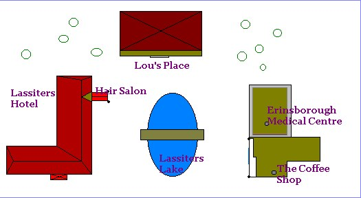 A map of Lassiters.